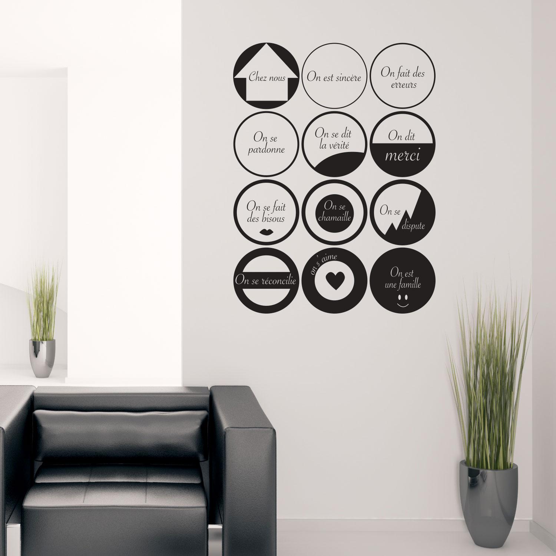 Sticker design dans notre maison